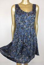 PRINCESS HIGHWAY DANGERFIELD DRESS BLUE FLORAL MINI DRESS -  10