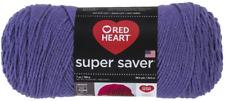 Red HeartSuper Saver Yarn, Lavender Solid - Lavender Solids