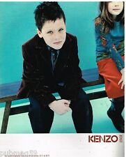 Publicité Advertising 2002 Les Vetements pour enfants Kenzo Junior