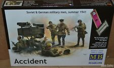 Masterbox 3590 1:35th scale 5 figures Accident Soviet & German Military WWII 41