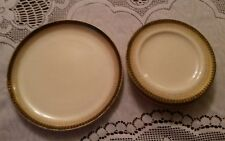 ANTIQUE WORCESTER PORCELAINE 6 x PLATES   1888 VERY OLD