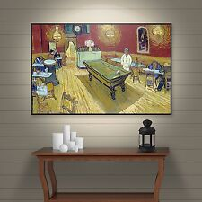 ArtWall Vincent Vangogh's The Night Cafe in The Place Lamartine in Aries Gallery