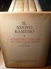 NUOVO RAMUSIO MISSIONARI ITALIANI TIBET  NEPAL CAPPUCCINI MARCHIGIANI Tucci 1952