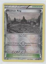 2014 Pokémon Furious Fists Base Set Reverse Foil #97 Mountain Ring Card 0c6
