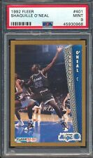 45930968 1992 Fleer 401 Shaquille O'neal RC Rookie PSA 9 MINT