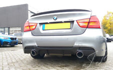Fits BMW 3 Series E90  - Rear Lip Diffuser Spoiler Add On Sport Models Only