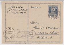 All.Bes./Gemeinsch.Ausg.Mi. P 965, Berlin W 11, 9.12.47 (+ kopfst.MWS)