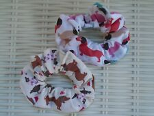 Sausage Dog Dogs Dachshund Dachshunds Hair Scrunchies Scrunchy Tie Band Gift New