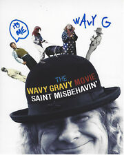 WAVY GRAVY - WOODSTOCK CULTURAL ICON SIGNED AUTHENTIC 8X10 PHOTO C w/COA HIPPIE