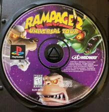 Rampage 2: Universal Tour (Sony PlayStation 1, 1998) Disc ONLY PS1 PS2 Tested