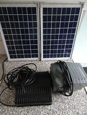 Solar Teich Set mit Akku Gartenteich Pumpenset Teich esotec 2 Solarzellen Akku
