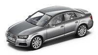Original Audi A4 8W Limousine Modellauto 1:43 Florettsilber Modell Audi A4 8W