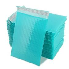Yomuse 50 Pcs Packaging Padded Bubble Plastic Mailers 190mm x 260mm 40mm Teal