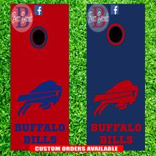 Buffalo Bills Cornhole Board Decal Set of 6 Vinyl Decals 6 Piece Sticker Kit nfl