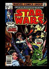 STAR WARS #9  NM (9.4) WP Marvel Comics 1977 Jedi Darth Vader Skywalker (vol 1)