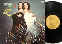 Baccara – Light My Fire Vinyl LP 1978 RCA Original Australian issue-VPL1 7187