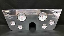 1967 1968 1969 1970 1971 1972 CHEVY TRUCK GAUGE CLUSTER WHITE 3 3/8