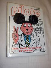 "RELIURE ""PILOTE nos 49 - 54"" (1978) RIBERA / H. PRATT / FRED / BILAL / VALERIAN"