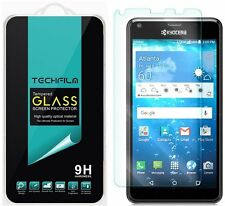 TechFilm® Tempered Glass Screen Protector Saver Shield For Kyocera  Hydro View