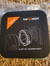 K&f Concept Lens Adapter For Nikon Camera L/M