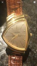 HAMILTON REGISTERED EDITION Ventura 6250 white dial gold Plate  men's watch