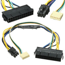 30cm ATX 24pin to Motherboard 2-port 6pin Power Supply Cable for HP Z220 Z230 SF