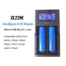VONTAR Intelli Battery Charger For  Vape Mods 18650 14500 26650 16340 Li-ion Bat