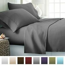 ienjoy Home Hotel Collection Luxury Soft Brushed Bed Sheet Set, Hypoallergenic,