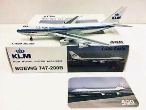 JC Wings / Aeroclassics 1:400 KLM BOEING 747-200B PH-BUD