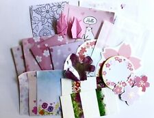 Cherry Blossom Sakura Stationary Set 25 Pc