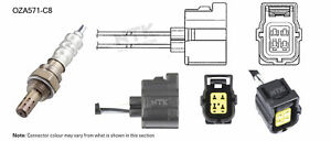 NGK NTK Oxygen Lambda Sensor OZA571-C8 fits Jeep Cherokee 2.4 4x4 (KJ), 3.7 4...