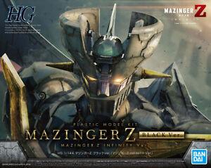 HG High Infinitism Mazinger Z Infinity Black version 1/144 model kit Bandai