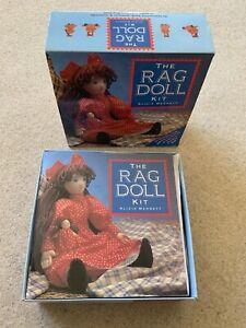 Make Your Own Rag Doll Complete Handcrafting Kit Alicia Merrett New Vintage