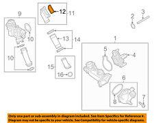 AUDI OEM 13-17 A8 Quattro 4.0L-V8 Water Pump-Adapter Gasket 079121043B