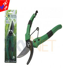 "7"" Strong Carbon Steel Garden Shears Cutters Secateurs Plant Pruning Trim"
