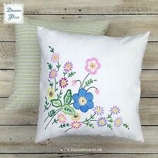 Embroidered Farmhouse Square Decorative Cushions