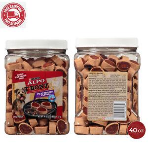 Purina Alpo Tbonz Filet Mignon Flavor Dog Treats - 40 Oz. Canist