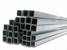 5x 10mm x 10mm x 1000mm Square Inside Pultruded Carbon Fibre Tubes (SQ10)