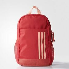 adidas Classic 3-Stripes Core Pink/Haze Coral Girls Backpack New