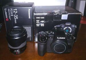Panasonic G80/G81/G85 + Panasonic Lumix G X Vario 12-35mm f/2.8 II ASPH