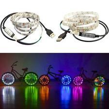 5V 5050 60SMD/M RGB LED Strip Light Bar TV Back Lighting USB LED Strip/