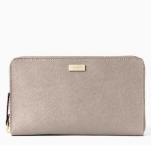 Kate Spade New York Laurel Way Kaden Saffiano Leather Wallet Clutch Brand New