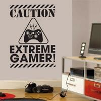 Gamer Wall Decal Sticker Vinyl Wall Sticker For Kids Room Boys Bedroom Decor