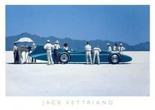 "Jack Vettriano ""Bluebird at Bonneville""  50x70 cm Kunstdruck"