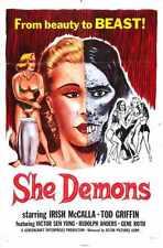 She Demons Poster 01 Metal Sign A4 12x8 Aluminium