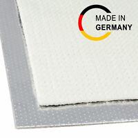 20x20cm Hitzeschutz Matte selbstklebend Aluminium Fiberglas 5mm reflektierend