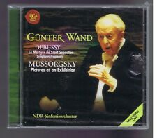 DEBUSSY MOUSSORGSKY CD (NEW) LE MARTYRE DE ST SEBASTIAN/ GUNTER WAND