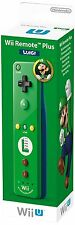 Official Nintendo Wii U Remote Plus Green Controller - Luigi Edition NEW Sealed