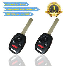 2 For Honda Accord Keyless Entry Remote Car Key Fob OUCG8D-380H-A With Chip US