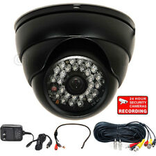 Audio Video Day Night Outdoor Security Camera Wide Angle with SONY Effio CCD 1UQ